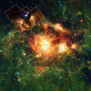 NASA NGC 3603
